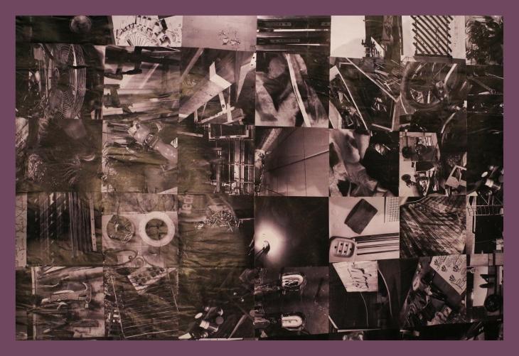 Travail de Thérèse Pitte Photographe plasticienne dans le cadre de la Biennale Bricodrama 2017 - Art Contemporain à Toulouse Occitanie